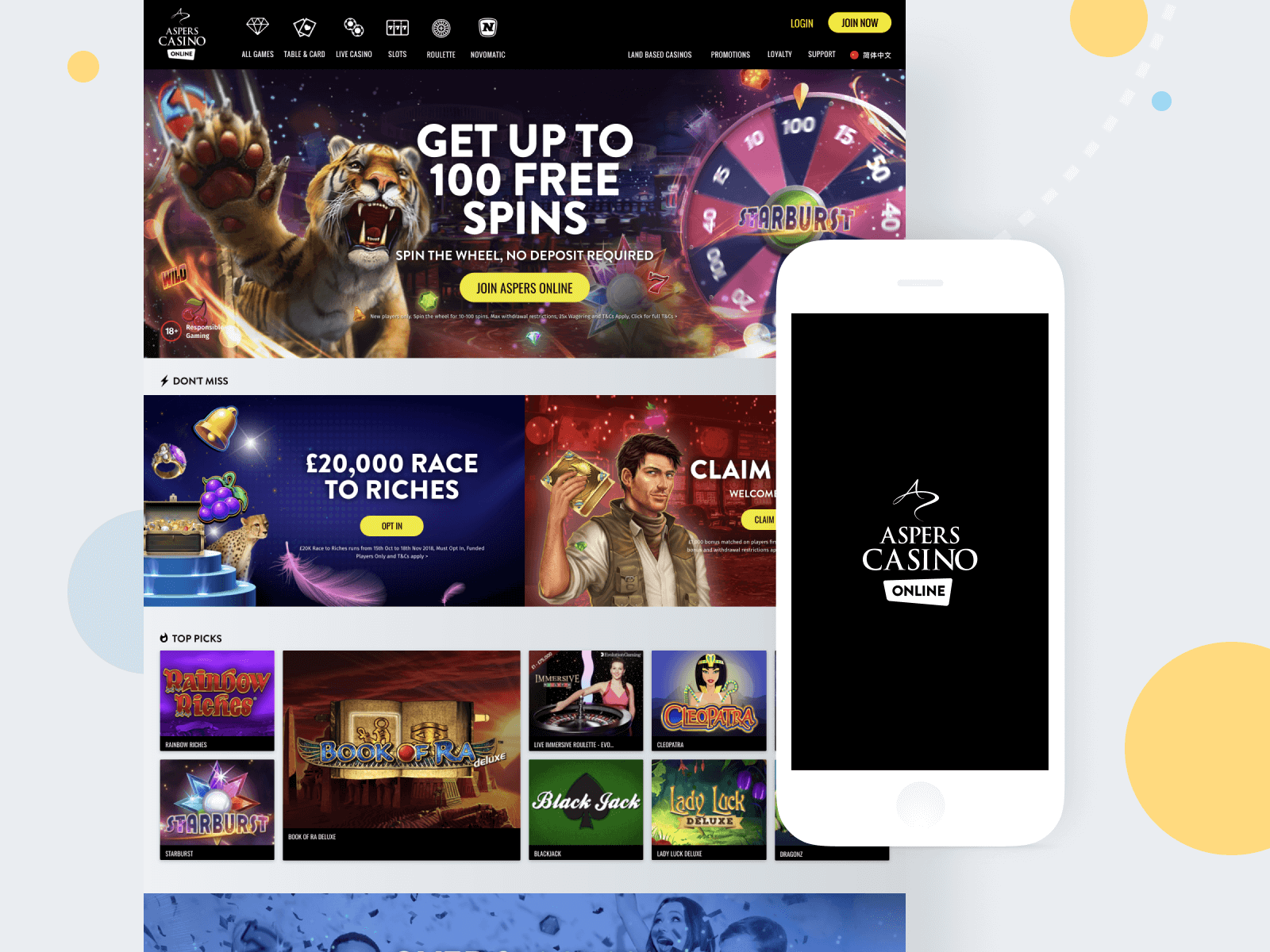 UI Aspers Casino